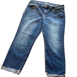 Old Navy Cropped denim Cuff Hem Jeans.
